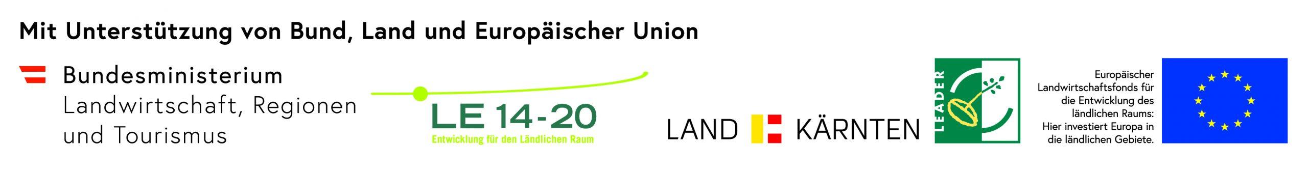 Logo des Landes Kärnten und des Bundesministeriums